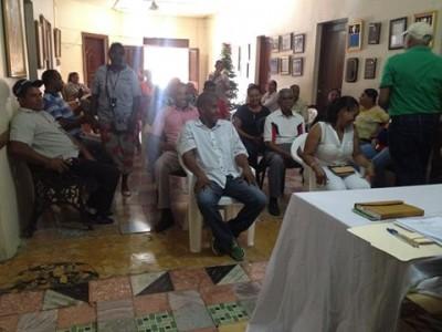 Alcalde y Consejales efectuaron la Asamblea Seccional