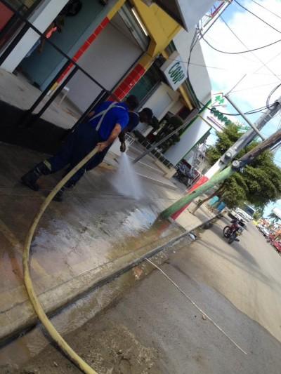 Operativo de Limpieza Municipal
