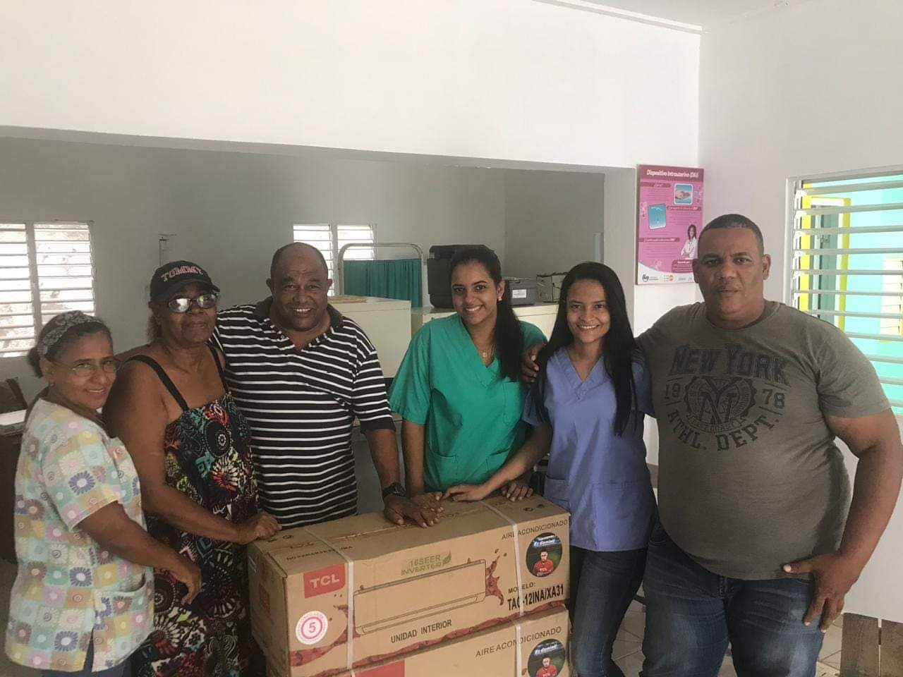 Donación de Aire Acondicionado a UNAP
