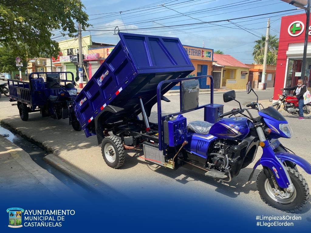 Ayuntamiento Castañuelas, Adquiere 2 Nuevos Equipos Para Recogida Residuos Sólidos