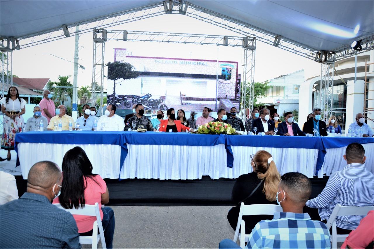 Inauguración del Palacio Municipal de Castañuelas.